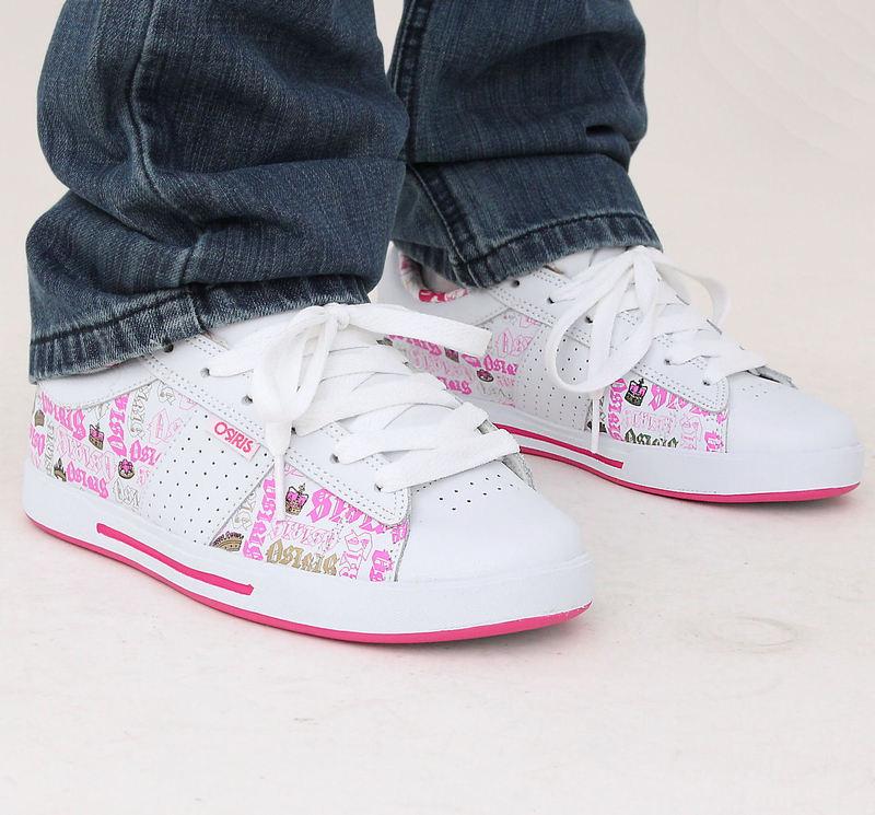 boty dámské OSIRIS - Volley Girls - White/Pink/Royalty