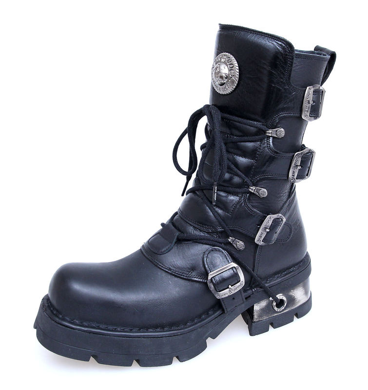 boty NEW ROCK - Classic Boots (373-S1) Black - N-8-29-700-00