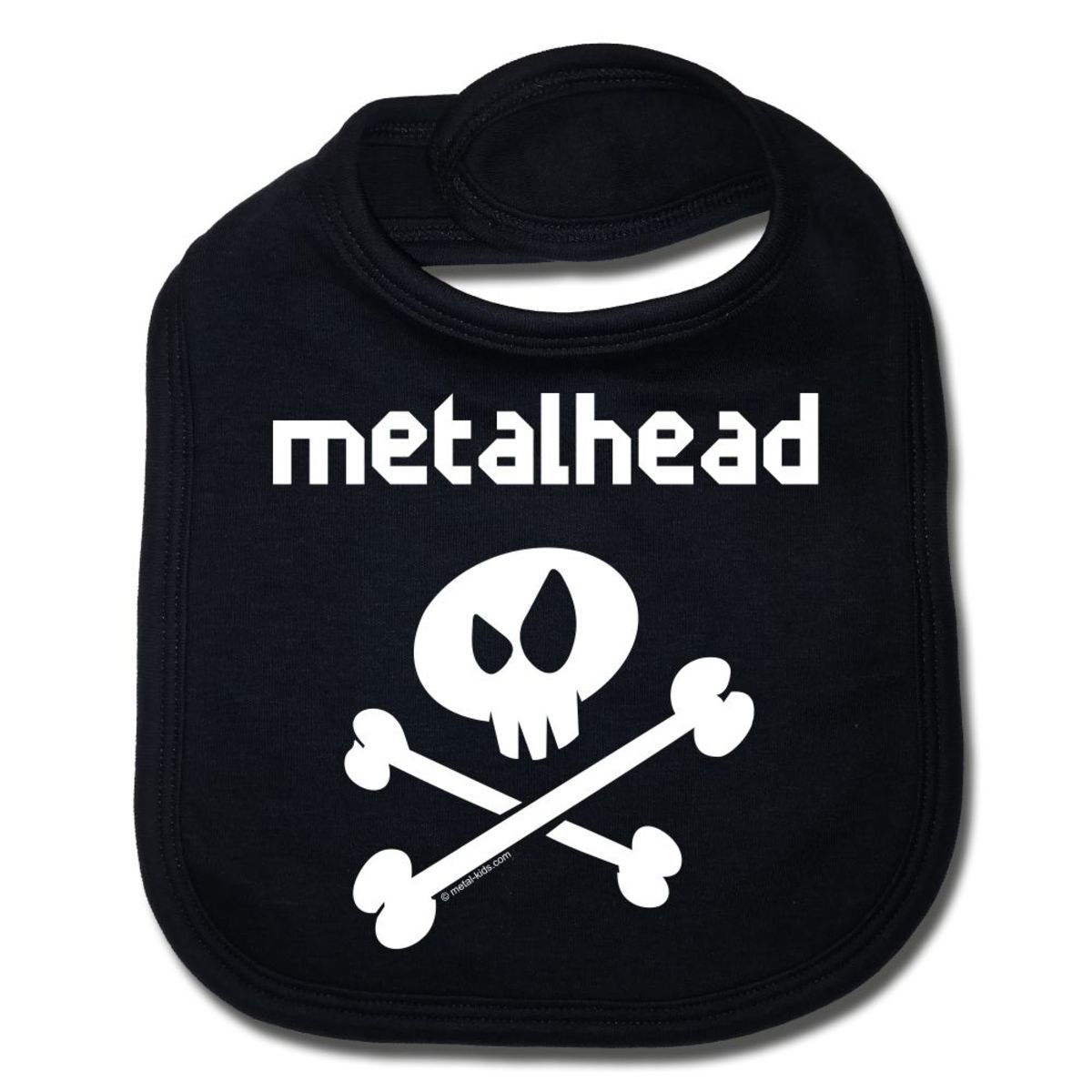 bryndák metalhead in white - black - Metal-Kids - 329-100-8-7