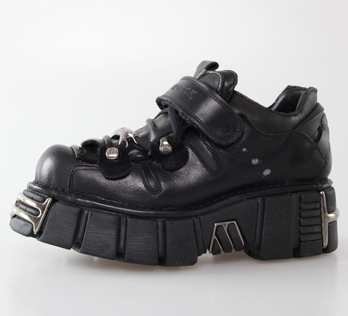 boty NEW ROCK - Bolt Shoes (131-S1) Black - N-8-51-700-00