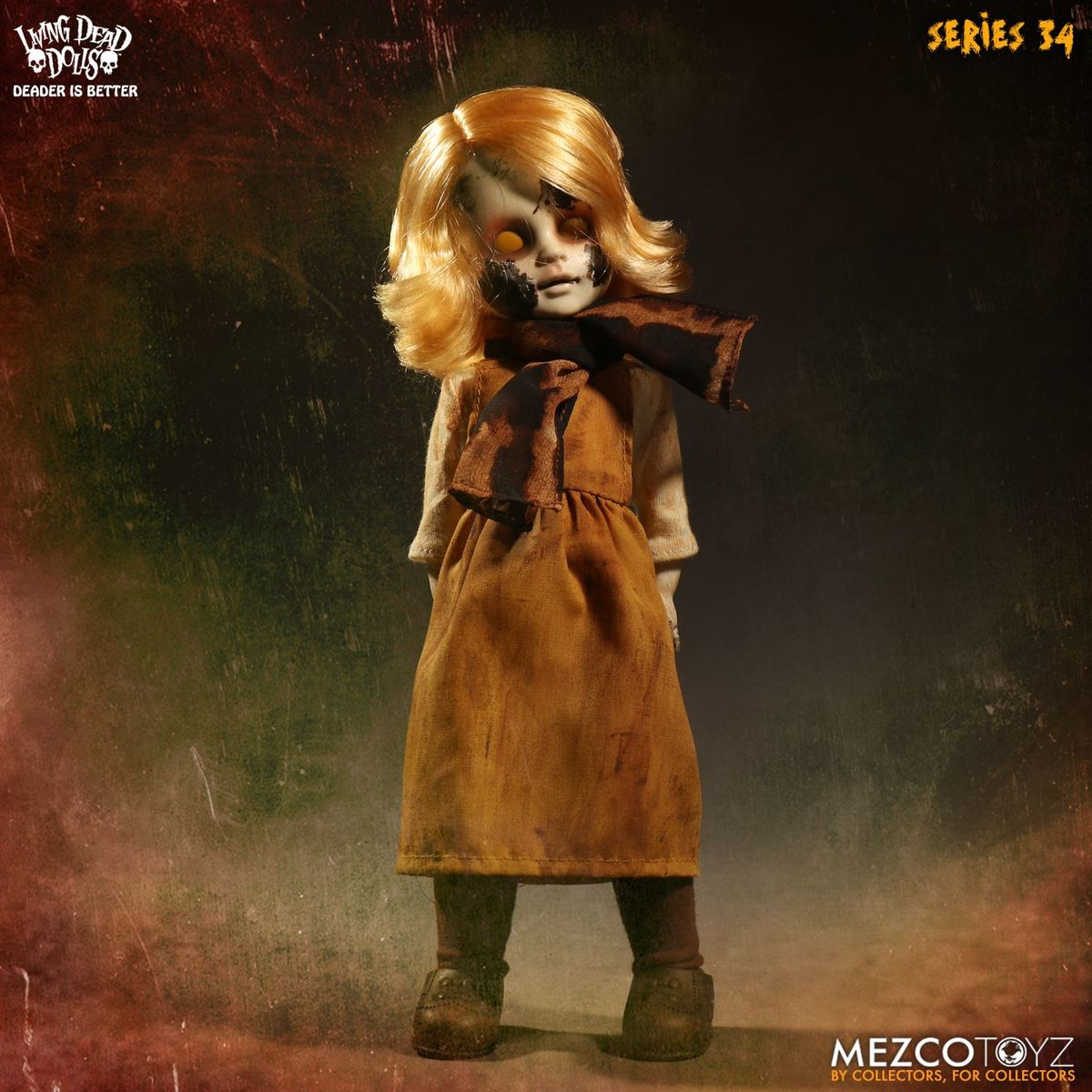 panenka Living Dead Dolls - The Time Has Come To Tell The Tale - Canary - MEZ93415-1