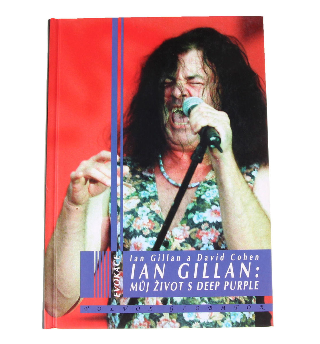 kniha Deep Purple - Můj život s Deep Purple, autor:Ian Gillan, David Cohen