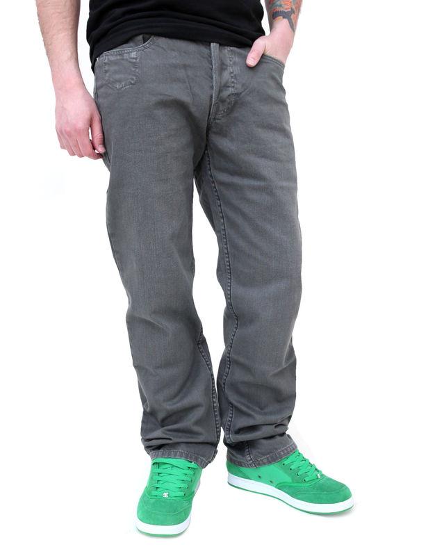 kalhoty pánské (jeansy) GLOBE - Mustaine - FADE GREY