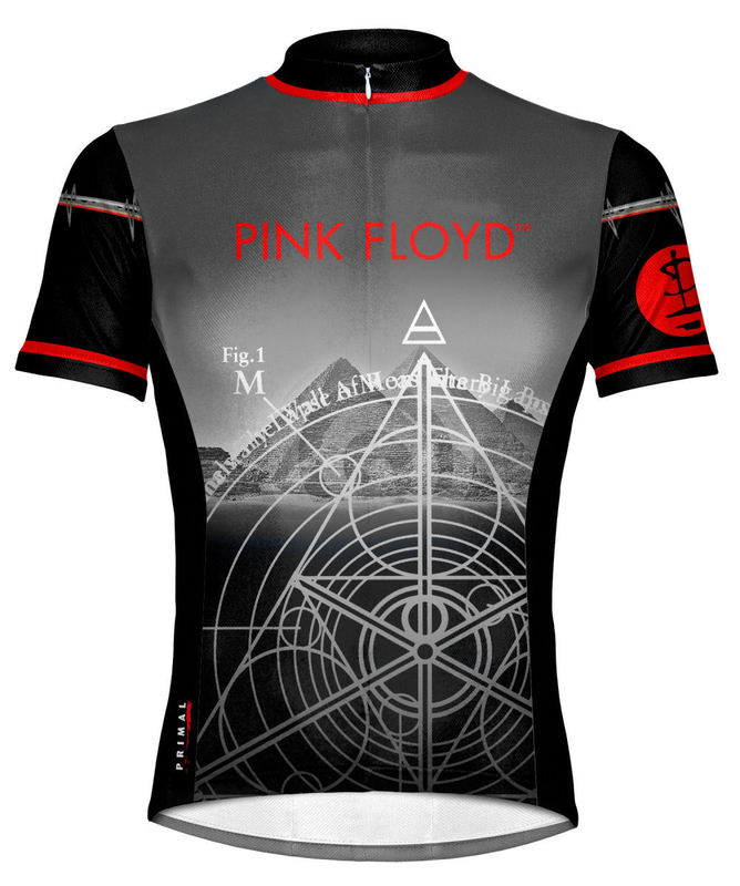 "dres cyklistický PRIMAL WEAR - Pink Floyd ""Giza"" - PFGIJ10M"