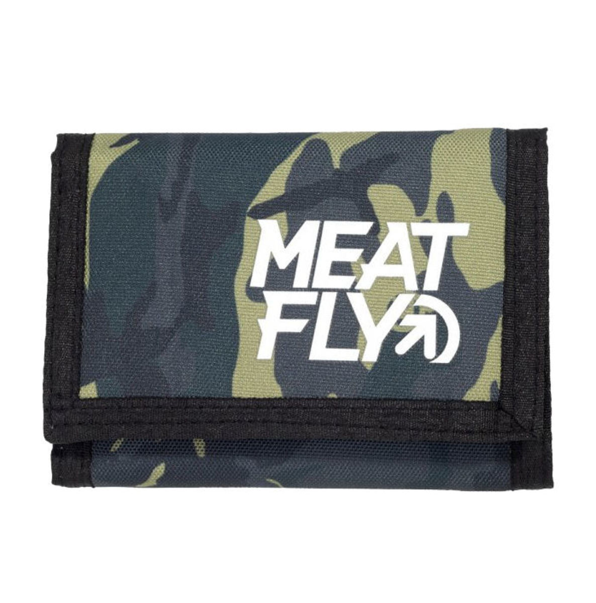 peněženka MEATFLY - ARROW - C - 12655 - Camo Black - MEAT200