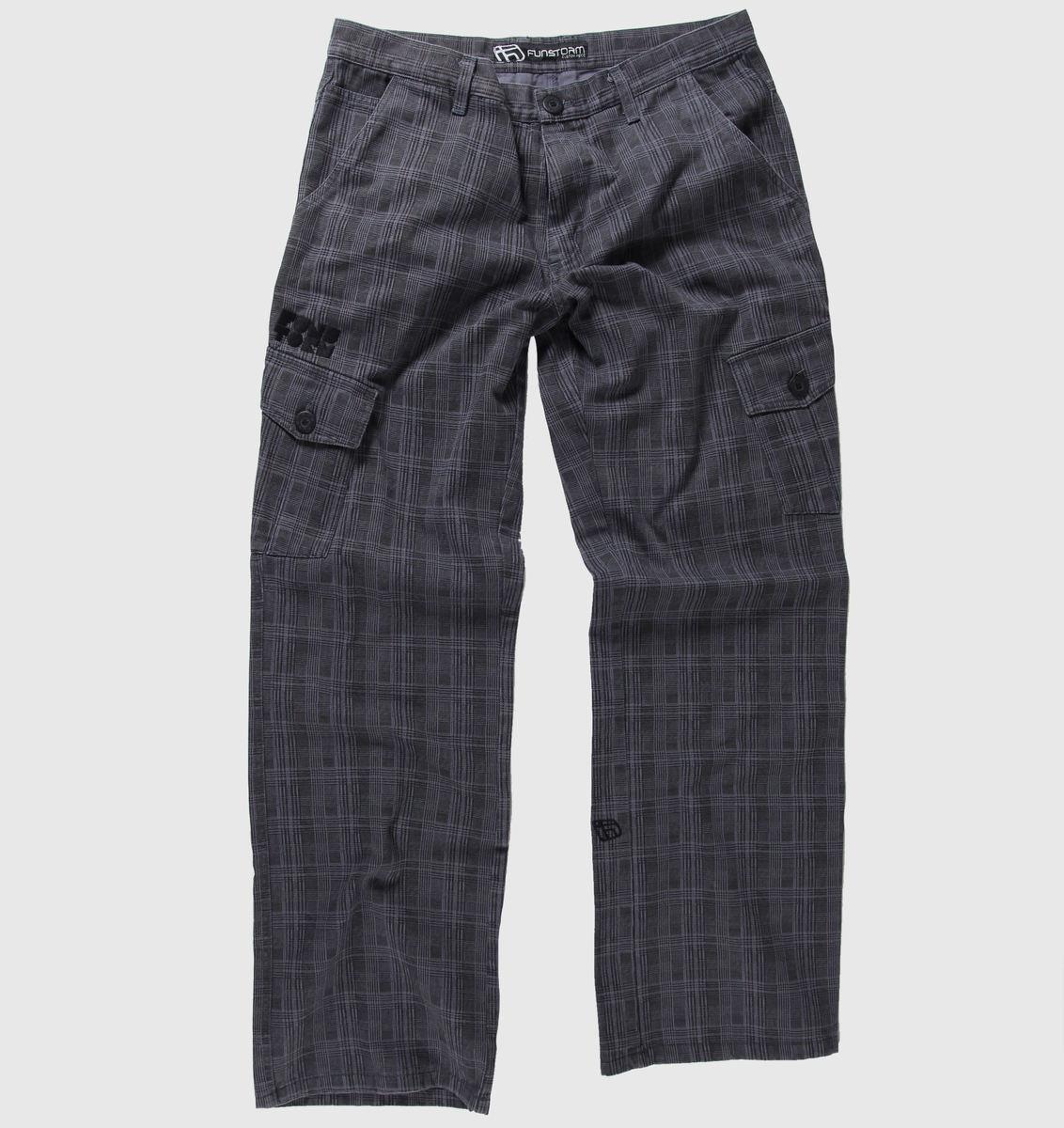 kalhoty pánské FUNSTORM - Comort - 19 GREY