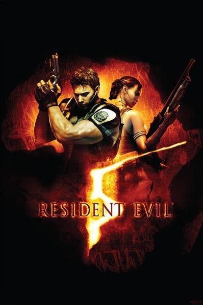 plakát Resident Evil 5 (BOX ART)