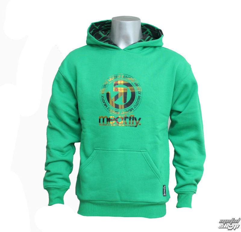 mikina dětská MEATFLY - Plaid Logo KIDS C