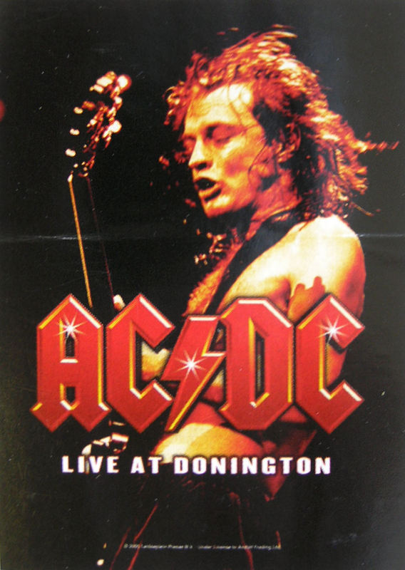 vlajka ACDC - Live At Donington - HFL0695