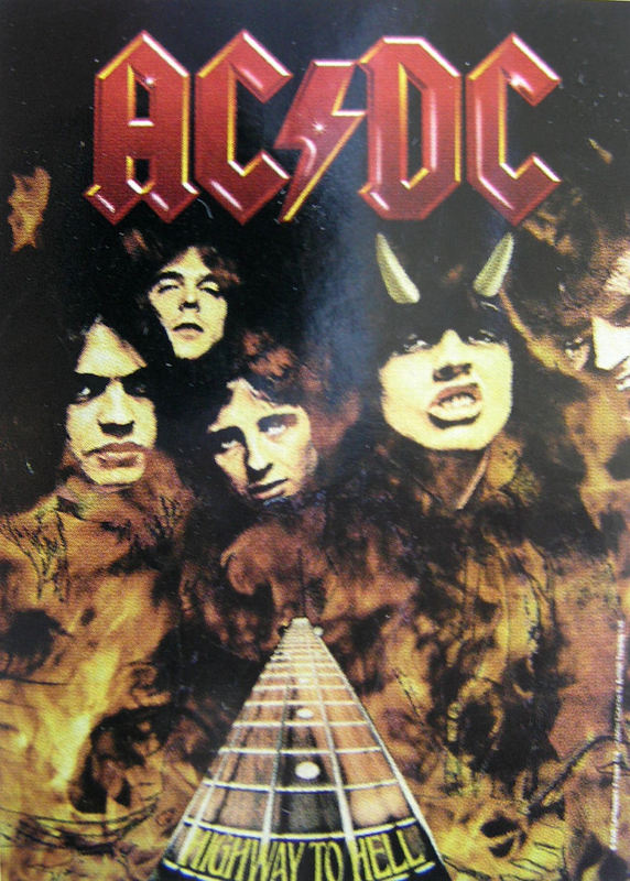 vlajka ACDC Highway To HellHFL 746