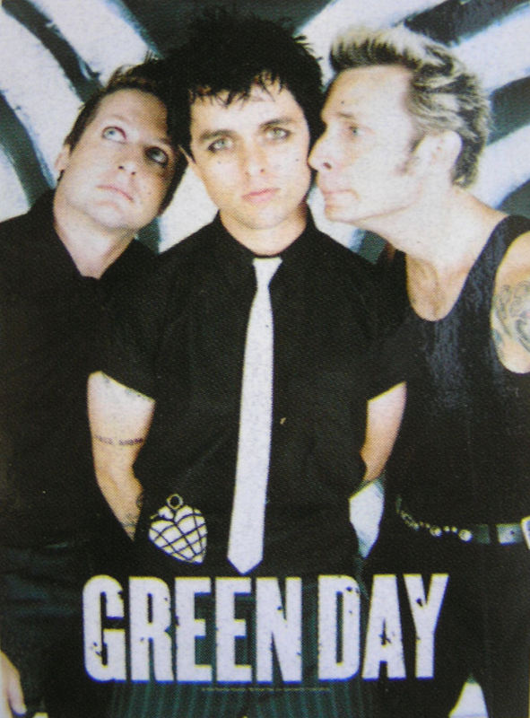 vlajka Green Day - Band Poster - HFL0763