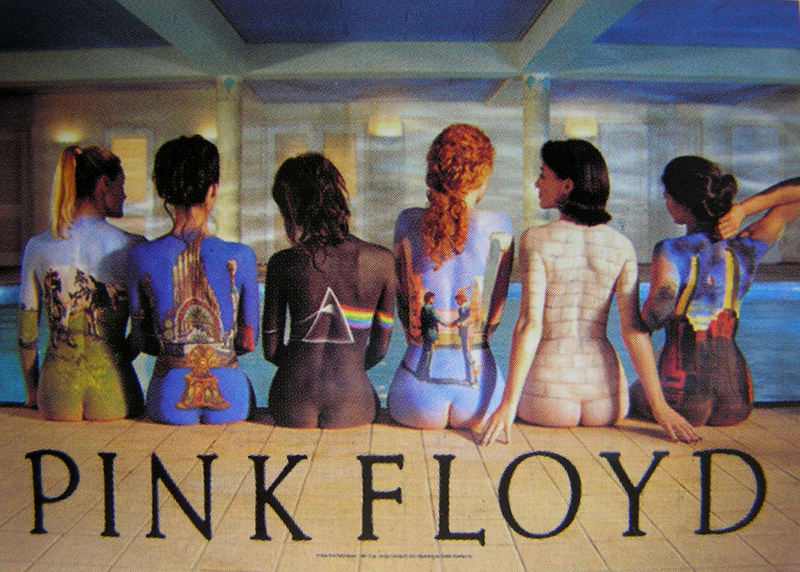 vlajka Pink Floyd - Back Catalogue - HFL0866
