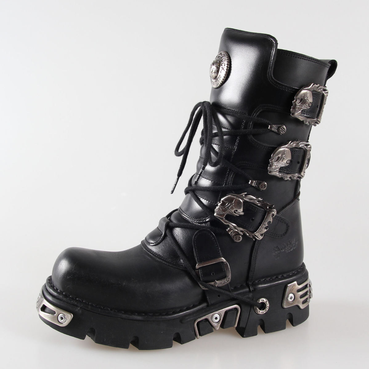 Boty New rock - Metal Boots (391-S1) Black - N-8-04-700-00