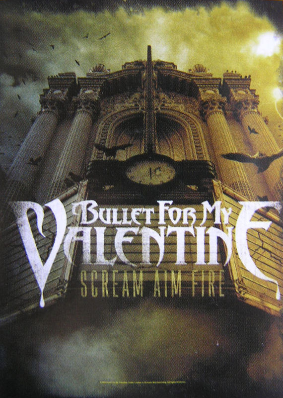 vlajka Bullet For My Valentine - Scream Aim Fire - HFL1006