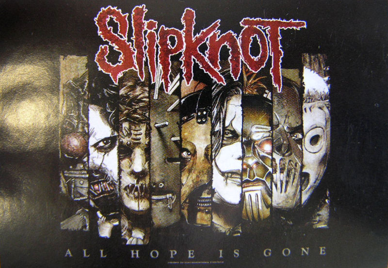 vlajka Slipknot - All Hope Is Gone - HFL1010