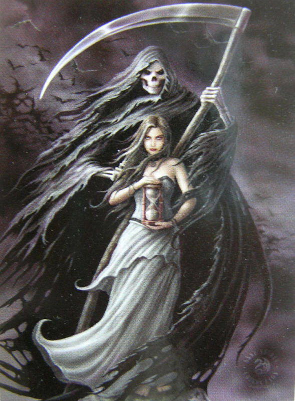 vlajka Anne Stokes - Summon The Reaper - HFL1029