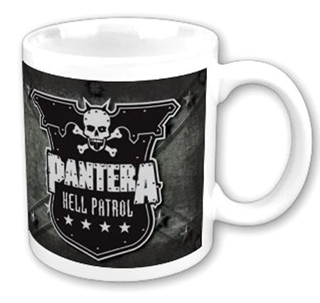 hrnek Pantera - Hell Patrol - ROCK OFF - PANTMUG01