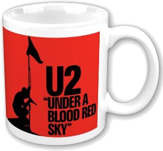 hrnek U2 - Blood Red Sky - ROCK OFF