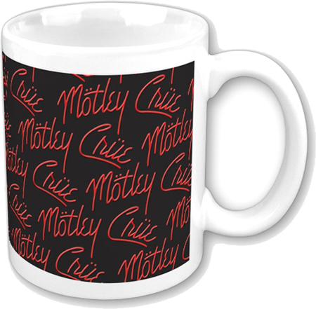 hrnek Mötley Crüe - Logos - ROCK OFF - MOTMUG01