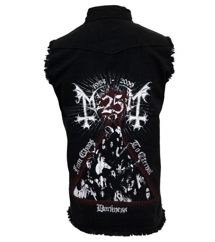 košile pánská bez rukávů Mayhem - From Chaos to Eternal Darkness - WS046 - RAZAMATAZ