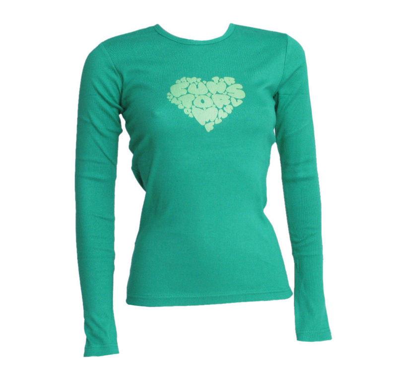 tričko dámské s dlouhým rukávem FUNSTORM - Leila - 07 GREEN