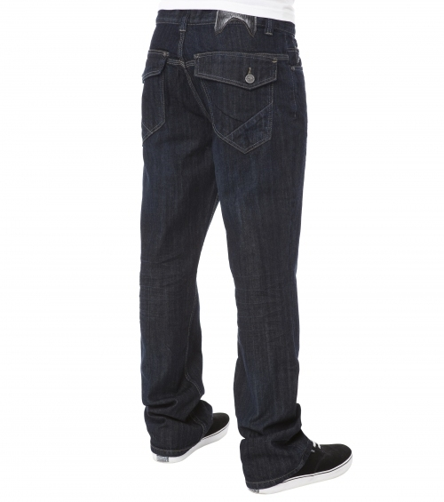 kalhoty pánské (jeansy) METAL MULISHA - Restraint - IND