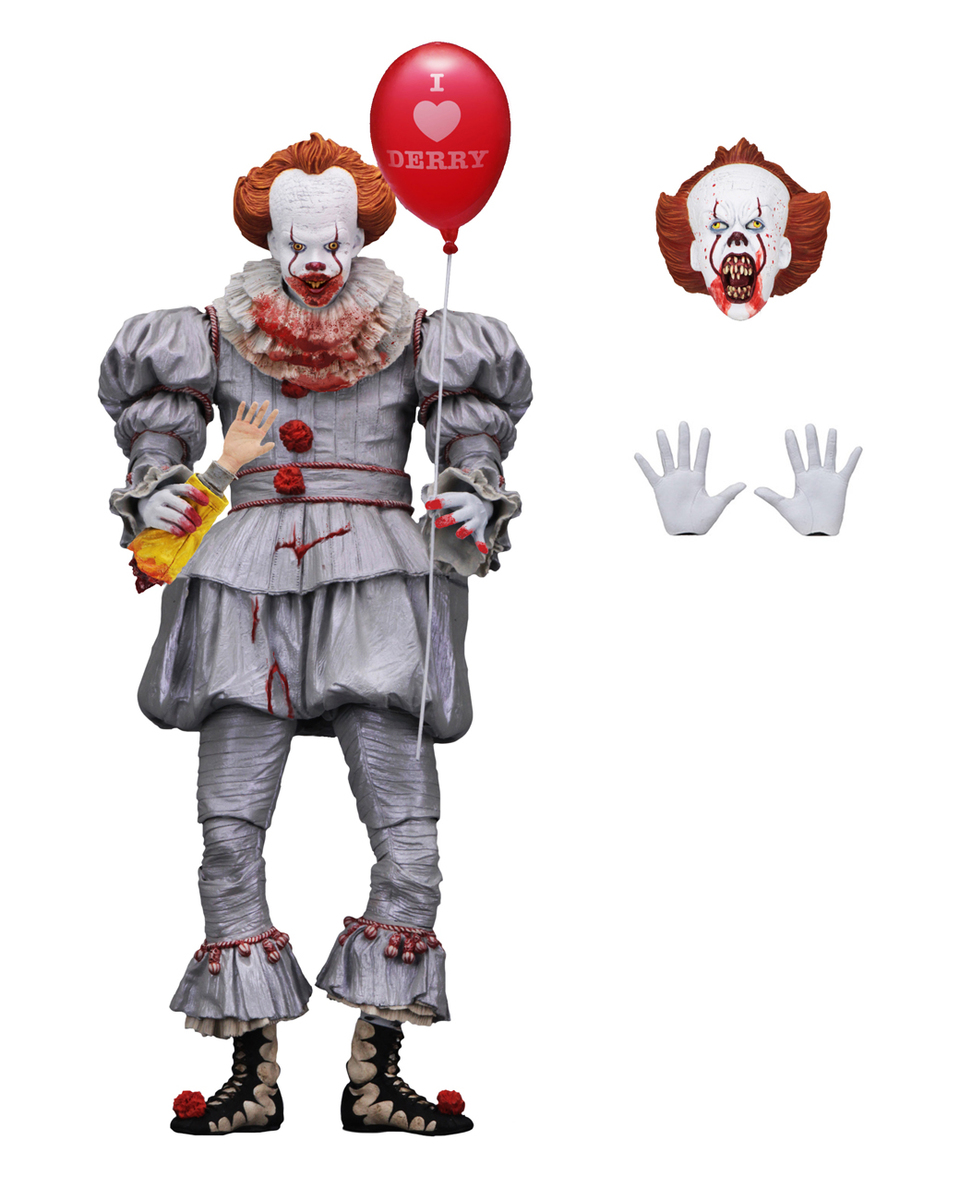 figurka To - Stephen King - Pennywise - I Heart Derry - NECA45466
