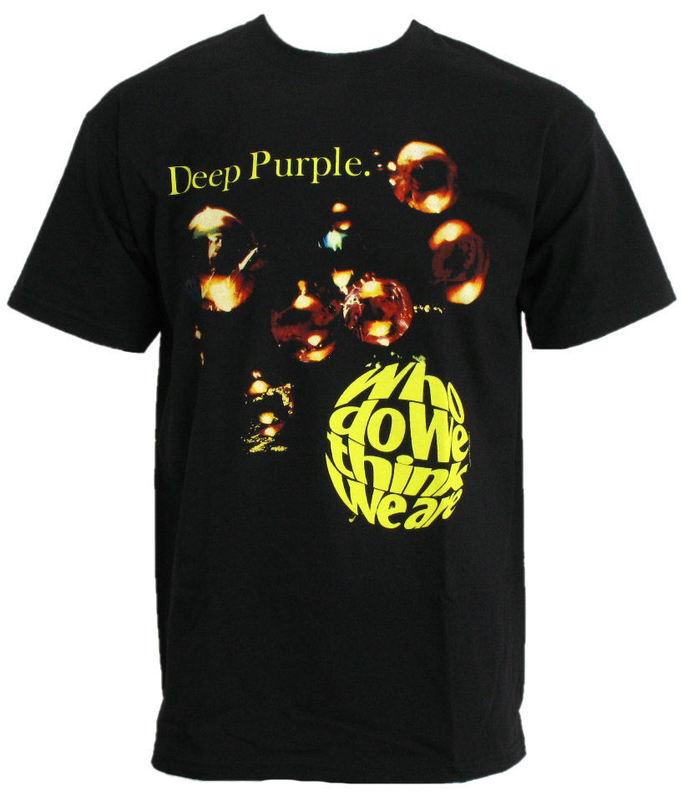 """tričko pánské DEEP PURPLE """"WHO DO WE THINK WE ARE"""" PLASTIC HEAD - PH5694"""