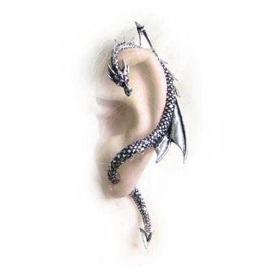 náušnice The Dragon's Lure (stud) ALCHEMY GOTHIC - E274 L