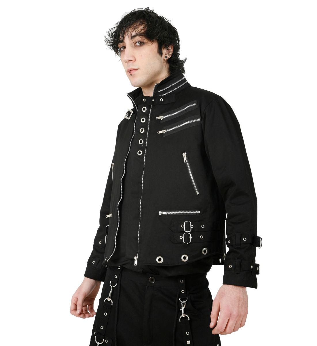 bunda pánská jarně/podzimní DEAD THREADS (MJ8965)