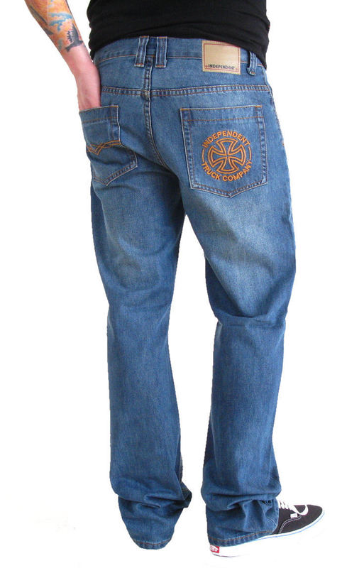 """kalhoty pánské (jeansy) INDEPENDENT """"Brand 129"""" - VINTAGE"""