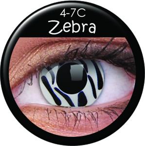 kontaktní čočka ZEBRA 600