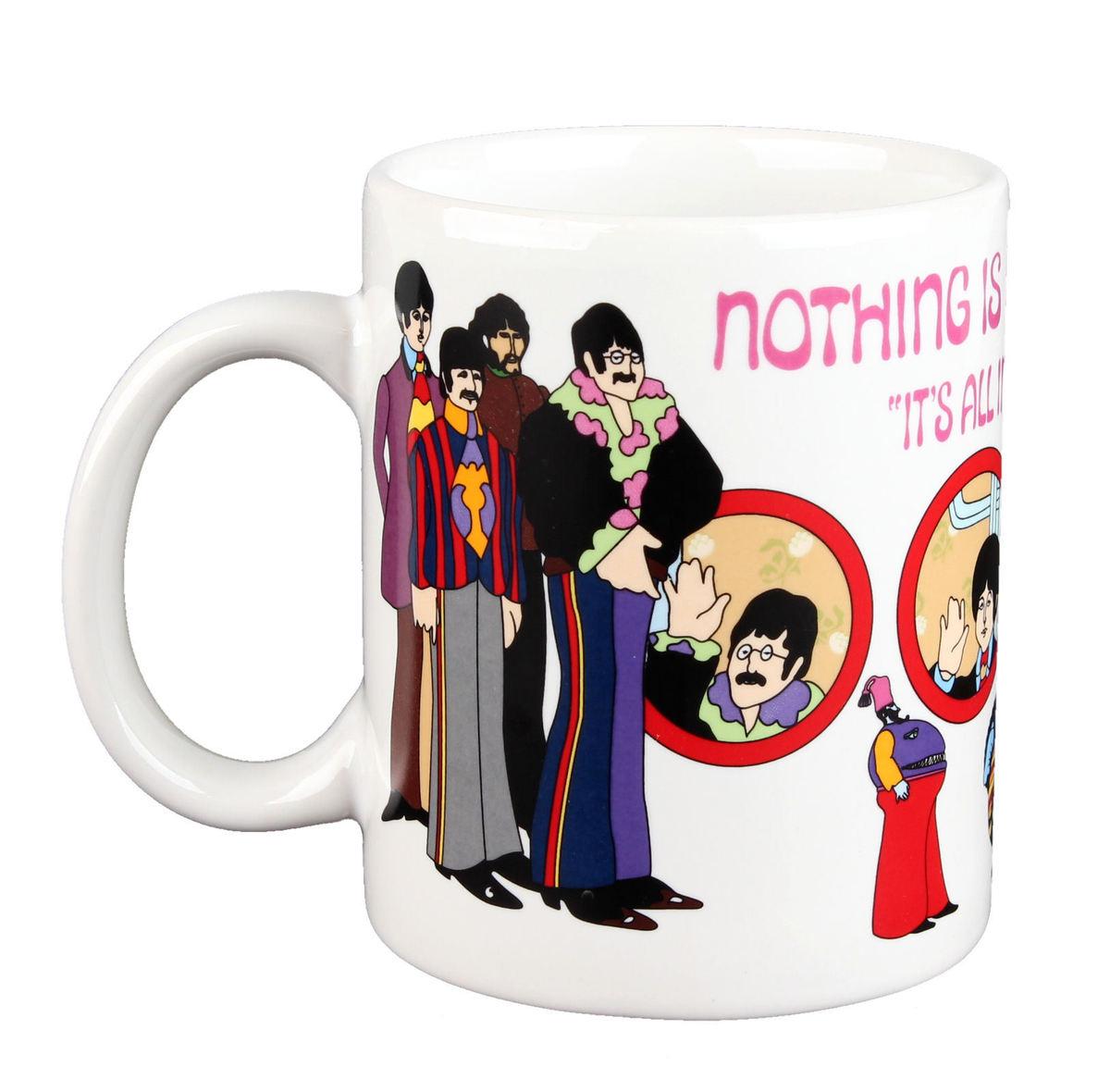 hrnek Beatles - Yellow Sub Nothing is Real Boxed Mug - ROCK OFF - YSMUG01