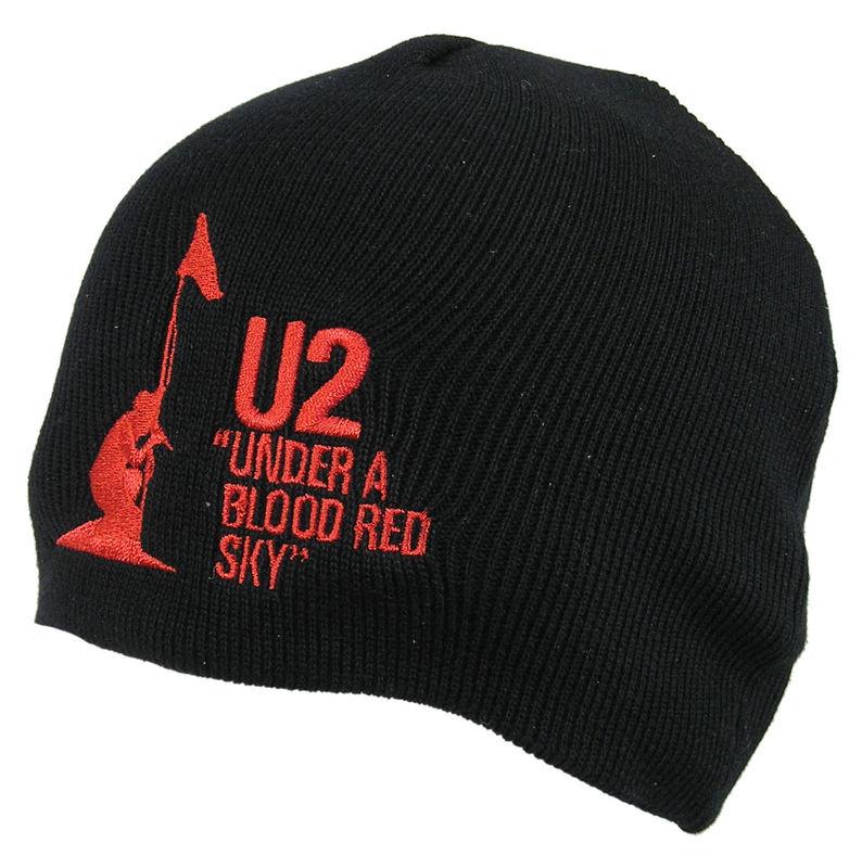 kulich U2 - U2 Beanie Hat Under A Blood Red Sky - ROCK OFF - U2BEAN01
