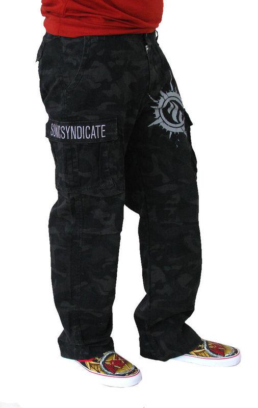 kalhoty pánské Sonic Syndicate - Black Camouflage - NUCLEAR BLAST - 175908