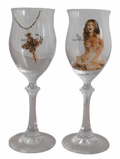 sklenice (SADA 2x kusů) VICTORIA FRANCES - Liberame Cross - 10414500