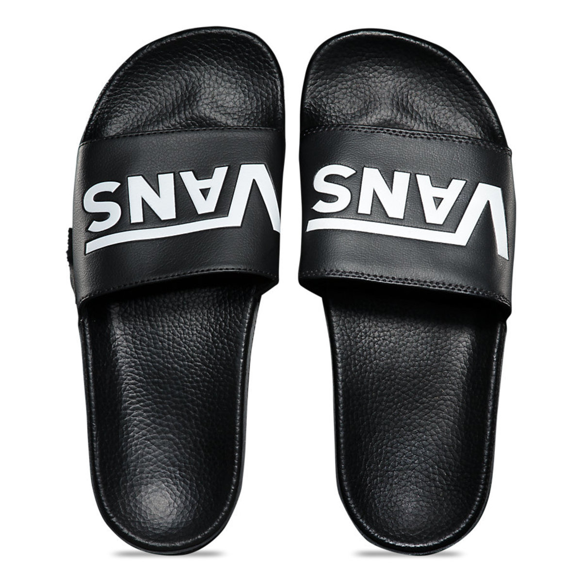 žabky unisex - MN SLIDE-ON (VANS) BLACK - VANS - V4KIIX6