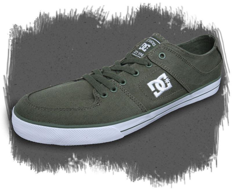 boty pánské DC - Pure Zero TX - BRONZE GREEN - WHITE