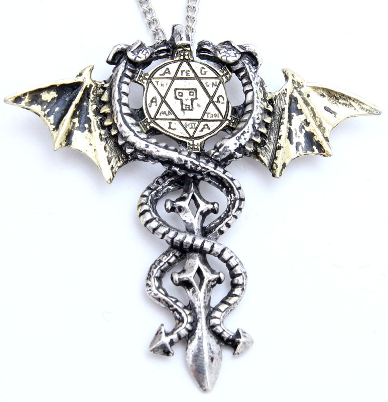 přívěšek Sacred Dragon Amulet - EASTGATE RESOURCE - FB4