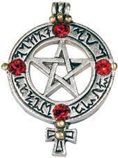 přívěšek Venusians Pentagram