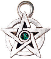 přívěšek Jewelled Pentagram