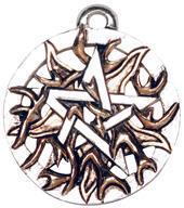 přívěšek Fire Pentagram