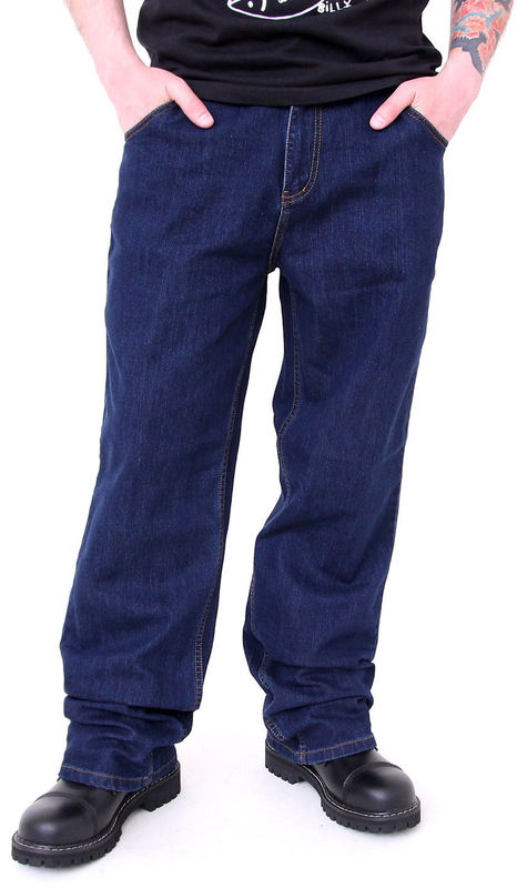 kalhoty pánské -jeansy- MEATFLY - Robber - C