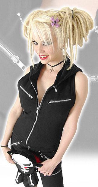 vesta dámská BAT ATTACK - Hell Girl - 38820
