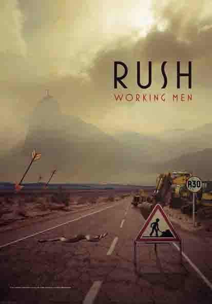 vlajka Rush - Working Men - JFL 1043