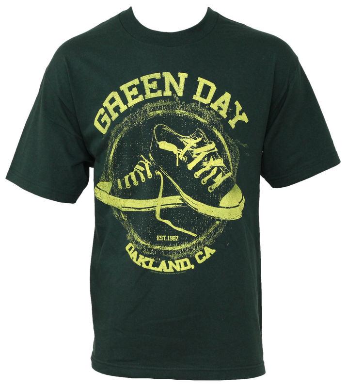 tričko pánské Green Day - All Star - BRAVADO - GDY1313