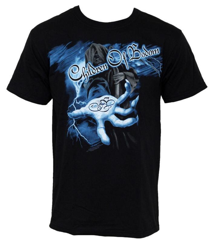 tričko pánské Children of Bodom - Reaper Lightning Hand - BRAVADO - COB1003