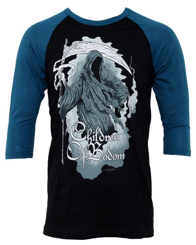 tričko pánské s dlouhým rukávem Children of Bodom - Painted Reaper - BRAVADO - COB1008