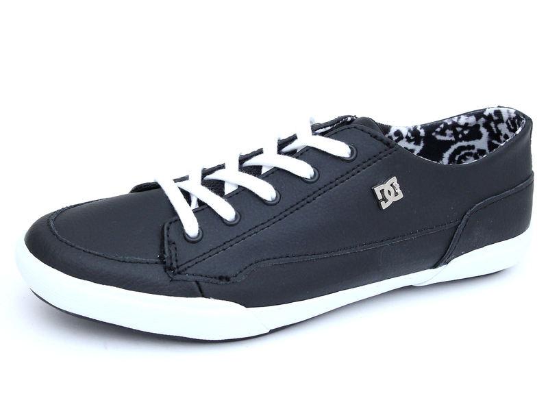 boty dámské DC - Asset Le - BLACK