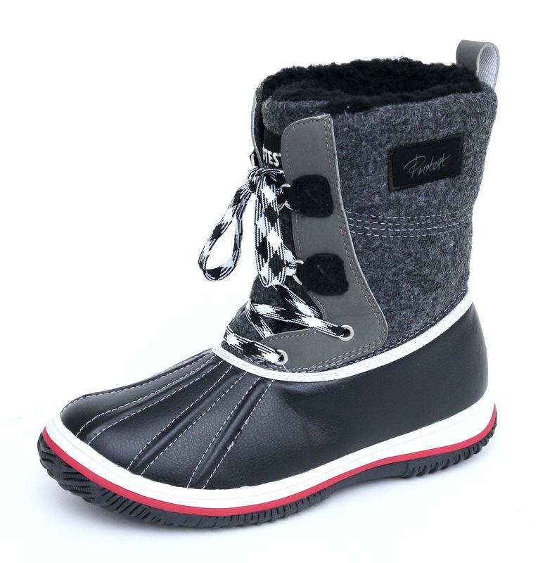 boty dámské zimní PROTEST - Tibu - 290 TRUE BLACK